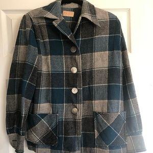 classic plaid Pendleton shirt
